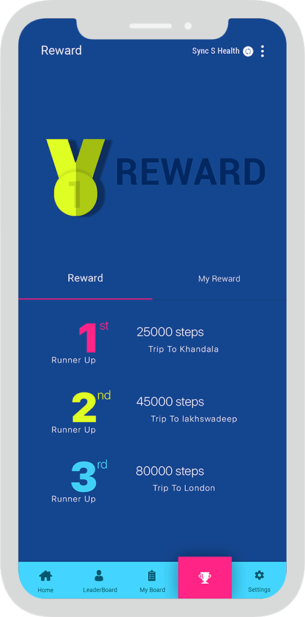 Employee Fitness Reward UX