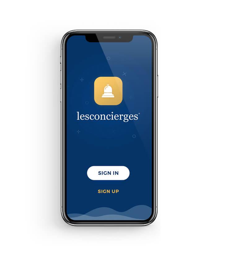 Lifestyle Concierge UX/UI App