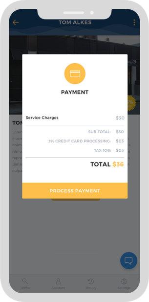 Lifestyle Concierge App