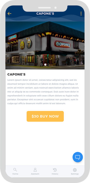 Concierge Lifestyle Ux App