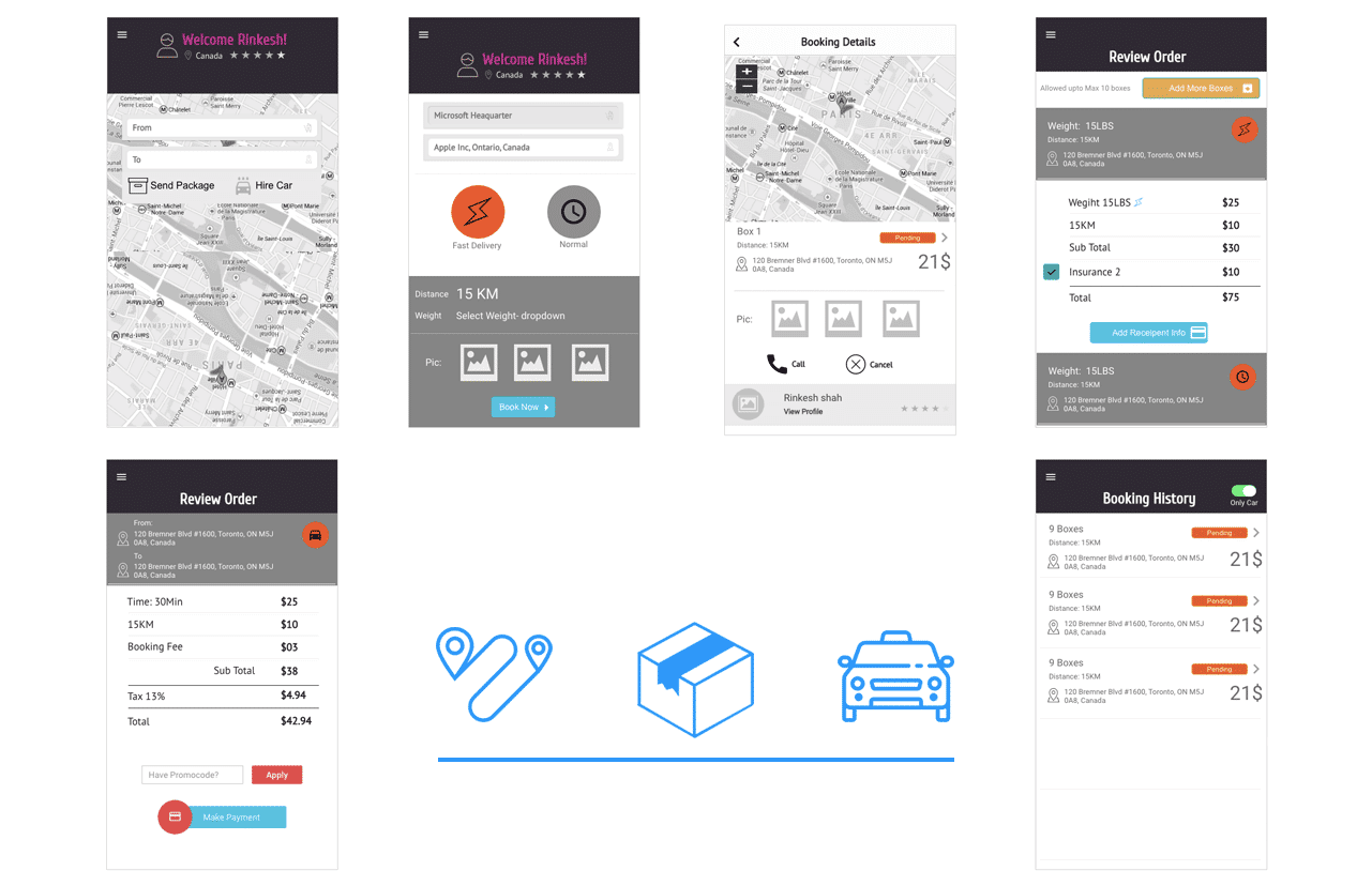 UX for Drop shipping App