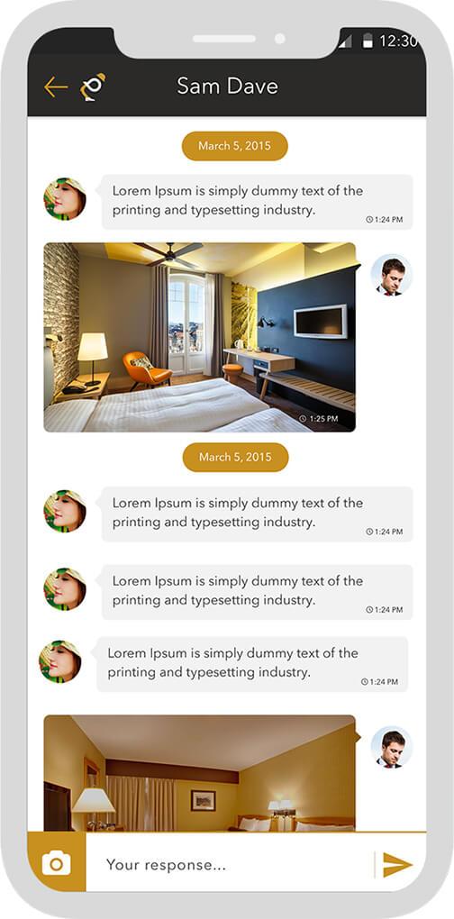 UI for Reward Program Chatbot