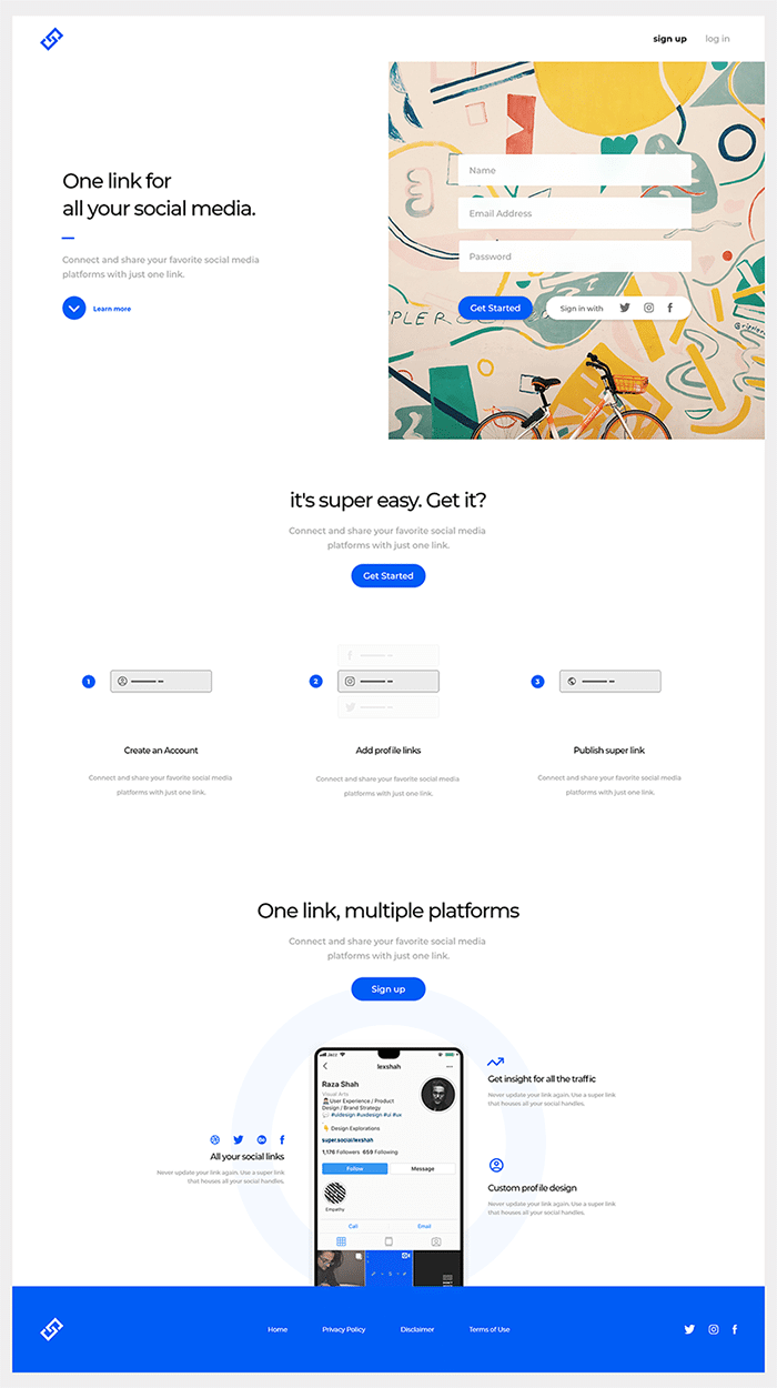 Social Engagement App Design